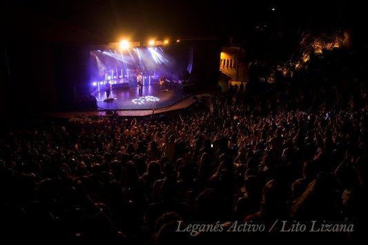Maldita Nerea cierra con lleno en el Teatro Egaleo de Leganés: Foto: Lito Lizana