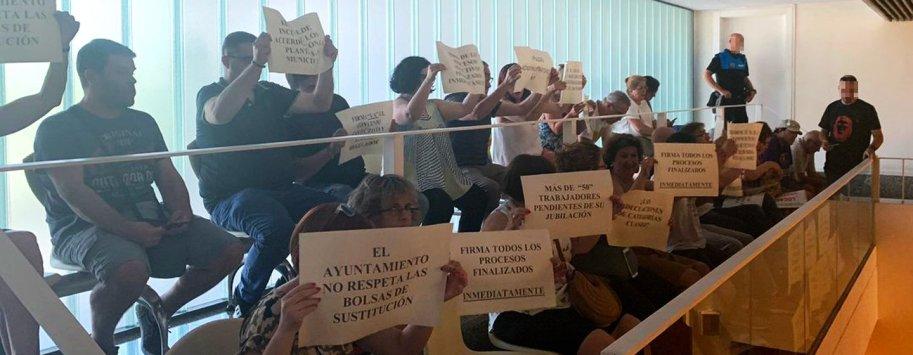 protestas ugt leganes