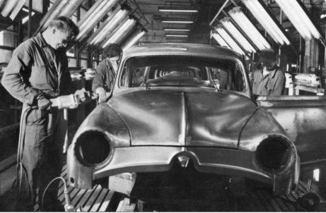 1951: Simca 9 Aronde