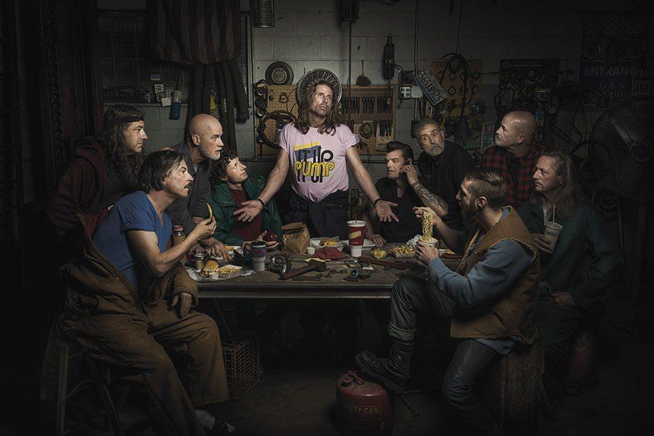 (c) Freddy Fabris - The Last Supper by Leonardo da Vinci