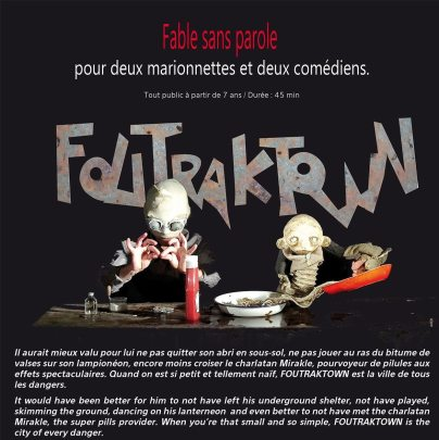 7 & 8 avril 2016 | Foutraktown | Cie Louise Rafale