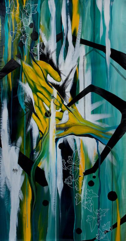Vente aux enchères au Garage / Artiste: Hélène Fehr