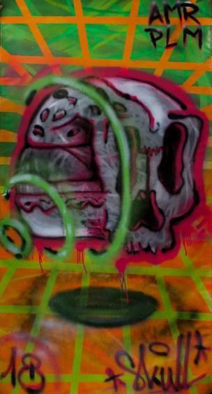 14 juin 2018 / Vente aux enchères au Garage / Artiste: Skull