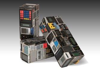 Rémy Tassou / E.Blocks are assembly of small domestic electronics