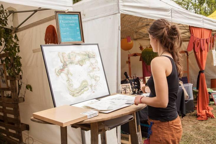 Caroline Evain -Illustratrice cartographe