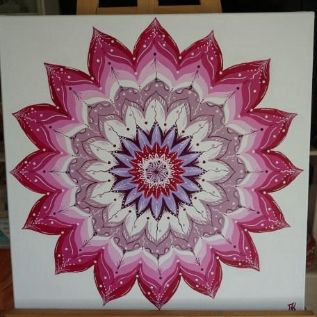 Karine Arsonnaud Peinture Mandala