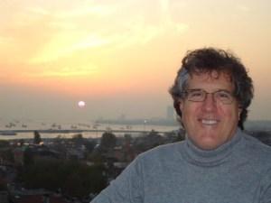 John Davison in Istanbul