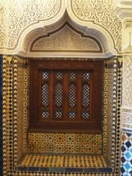 A niche in the Villa