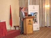 David Stenner presenting