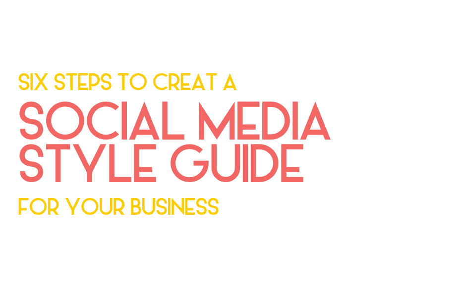 social media style guide - legendary social media vancouver