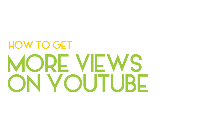 Want more views on your YouTube videos? Here's how: