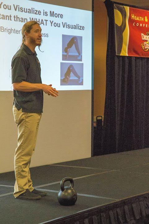 Logan auf der Dragondoor Conference