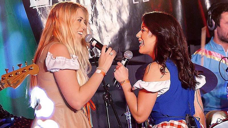 2 zangeressen