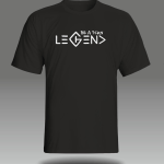 Legend Element Handprinted Men's T-Shirt | Be Fckn Legend