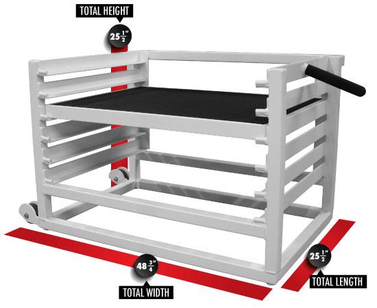Adjustable Step Up Box - Legend Fitness Legend Fitness