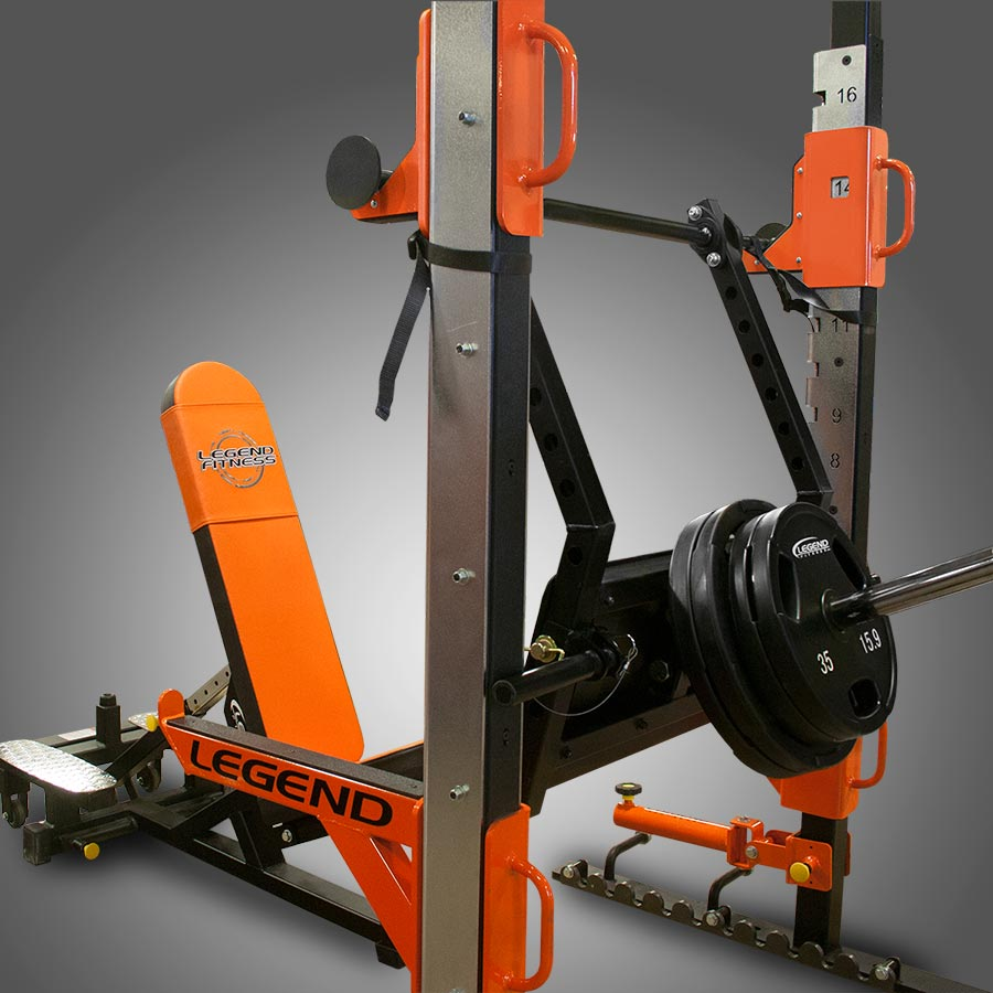 Performance Series Stealth Leg Press Legend Fitness