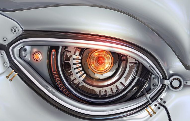 How robots Artificial eyes will see in the future