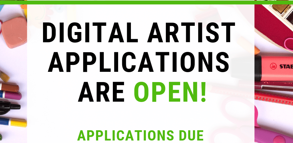 "Image that says ""Join the Legend of Genji Development Team! Digital Artist Applications are open! Applications are due March 16th 11:59 PM EST"""
