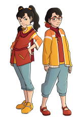 Ling Ling and Rei Macky
