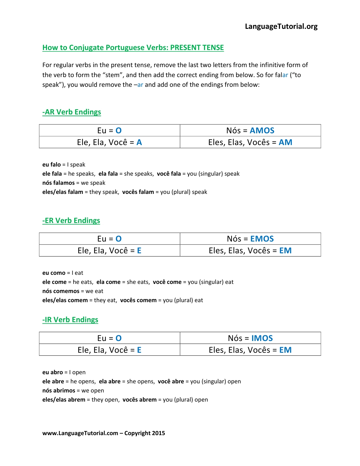 Free Printable Vocabulary Worksheets