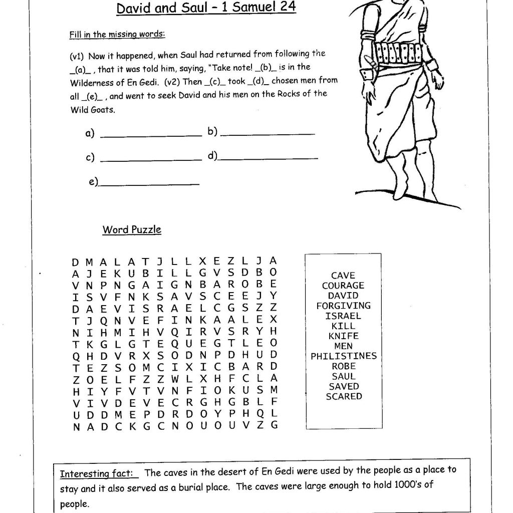8 9 Free Printable Bible Study Worksheets