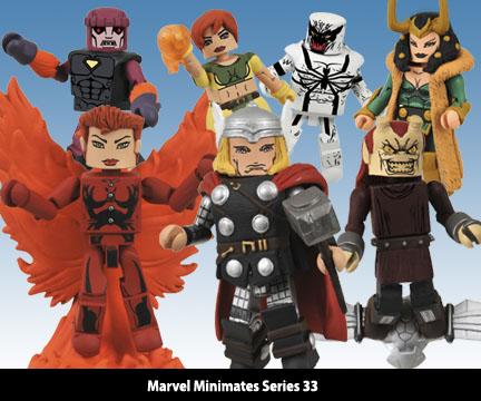 Marvel Minimates Series 33