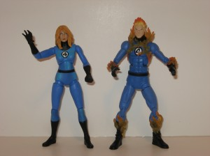 Invisible Woman and Human Torch