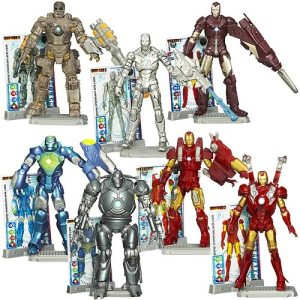 Iron Man 2 Movie Figures Wave One