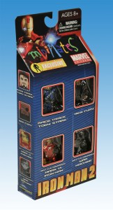 Iron Man 2 Action Figure Xpress Exclusive Box Set Side