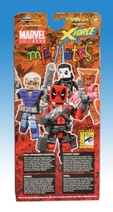 X-Force SDCC Minimates Back