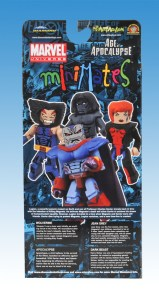 Diamond Previews NYCC Age of Apocalypse Minimates Box Back