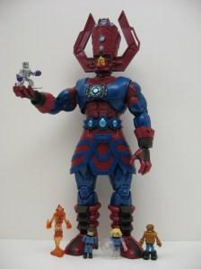 Galactus and Fantastic Four Minimates