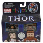 Toys R Us Thor Minimates Lady Sif and Volstagg