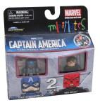 TRU Captain America Movie Minimates Captain America and Red Skull
