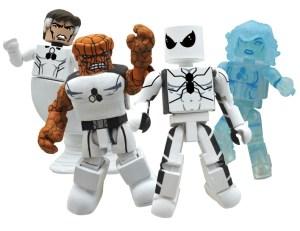 SDCC 2011 Marvel Minimates Future Foundation AFX Exclusive Box Set Group
