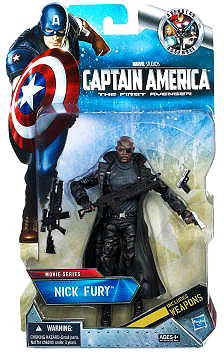 Captain America The First Avenger - 6-inch Nick Fury in package