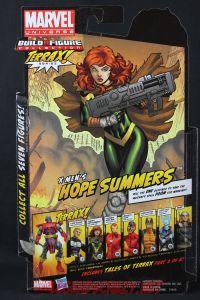 Return of Marvel Legends Wave One Hope Summers Package Back