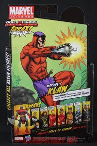 Return of Marvel Legends Wave One Klaw Package Back