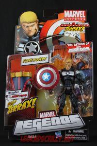 Return of Marvel Legends Wave One Steve Rogers Package Front