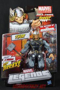 Return of Marvel Legends Wave One Thor Package Front