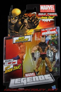 The Return of Marvel Legends Wave Two Dark Wolverine Package Front