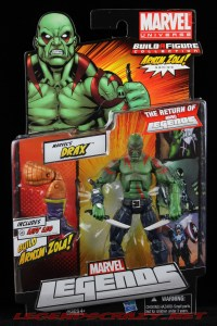 The Return of Marvel Legends Wave Two Drax Package Front