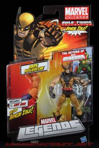 The Return of Marvel Legends Dark Wolverine Masked Variant Package Front