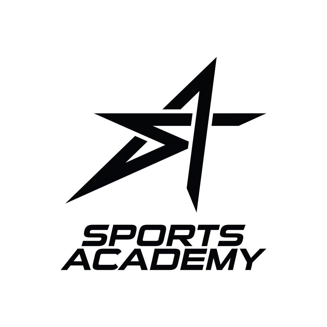 Sports Academy Vertical Logo