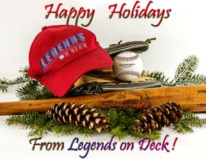 Happy Holidays from Legends on Deck