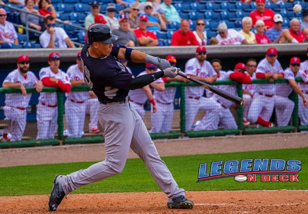 The Yankees No. 2 Prospect Aaron Judge is just one player that will be playing in the 2015 Future's Game. (Gabe Rodriguez)