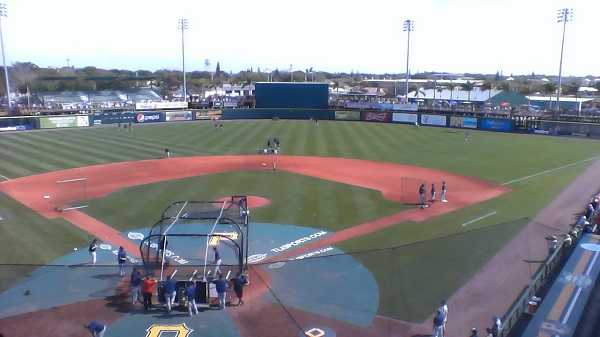 McKechnie field from press box