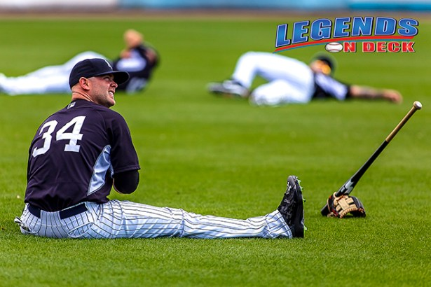 Brian McCann returned back to Atlanta this weekend, but this time as a member of the Yankees. (Gabe Rodriguez)