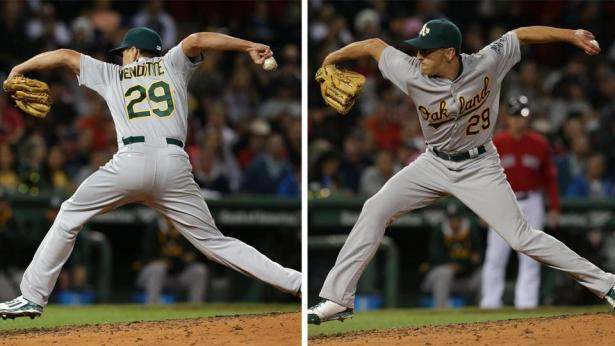 Venditte lefty right