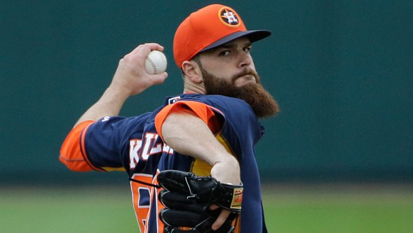 Astros' Ace LHP Dallas Keuchel dominated in the American League Wild Card game.<br /> (mlb.com)